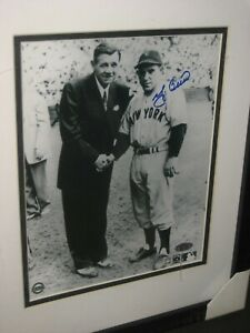 AUTOGRAPHED PICTURE (8X10) YOGI BERRA ( AUTHENTICATED)