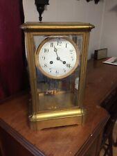 Huge Tiffany & Co. crystal regulator clock for restoration
