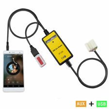 Car USB Mp3 Player Interface AUX In Adapter For Accord Civic Odyssey S2000