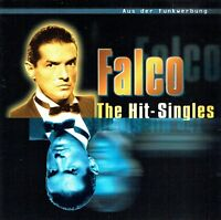 (CD) Falco - The Hit-Singles - Jeanny, Part 1, Coming Home (Jeanny Part 2), u.a.
