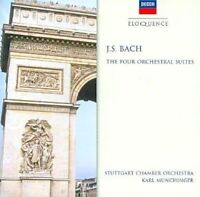 Bach:four Orchestral Suites - Karl Munchinger Compact Disc As New