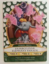 Dumbo's Pink Elephant Parade, Card 62, Disney's Sorcerers of the Magic Kingdom