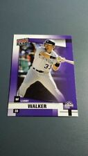 LARRY WALKER 2002 DONRUSS FAN CLUB CARD # 46 B7711