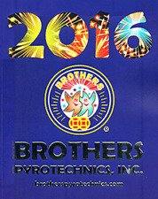 2016 Brothers Pyro fireworks catalog NEW