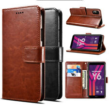 Huawei Y6 (2018) Crazy Horse Business Wallet Case For Huawei Y6 (2018) OPTUS