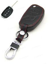 Leather Case Cover Holder For Hyundai IX35 IX45 I40 I45 Remote Flip Key 3 Button