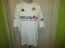 """FC St.Pauli Kappa Auswärts Trikot 2001/02 """"securvita DAS BESTE AUS"""" Gr.XL- XXL"""