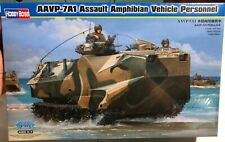 Hobby Boss AAVP-7A1 Assault Amphibian Vehicle Personnel 1/35 FS NEW Model Kit