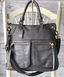 FOSSIL Karli Large Gray Pebbled Leather Hobo Shoulder Crossbody Convertible