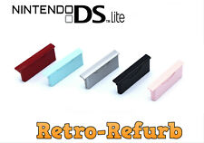 Official Nintendo DS Lite GBA Slot 2 Dust Cover - Pink - Red - Teal - Silver