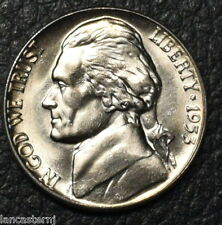 1953-D BU Jefferson Nickel  BU (Free Shipping)-No Additioal cost to add to Coin