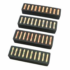 Rolled Coin Storage Organizer Penny Nickel Dime Quarter Black 2 Holder Tray