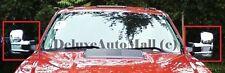 Chrome Mirror Covers (x2) FOR 2000-2015 GMC Sierra 2500 3500 HD w/Towing Mirrors
