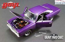 GMP 18897 1/18 1970 Plymouth Road Runner Graveyard Carz Plum Crazy-Lmtd 732 pcs!