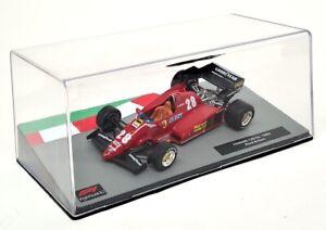 Atlas 1/43 - Ferrari 126 C3 1983 Rene Arnoux Diecast Model F1 Car