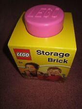 LEGO PINK STORAGE BRICK 4001 - NEW/SEALED/UNUSED