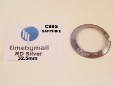 For RADO COUPOLE 32.5mm Silver SAPPHIRE Watch Glass Crystal New Spare Part C98S