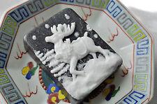 Reindeer Soap Colored Storm - Handmade