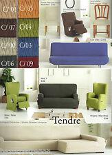 funda biélastica para sofa, silla, relax, clic clac,sofa chaisse longue,orejero