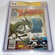 Uncanny X-Men #233 3x CGC SS Signature Autograph STAN LEE CLAREMONT SILVESTRI 🔥