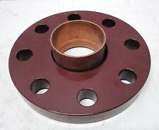 "NOS 2.5"" /  2 1/2"" ANSI 300 lb. Copper Companion Flange"