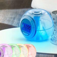 Digitaler Wecker LED Display Alarm Uhr RGB Tisch Thermometer Big Light