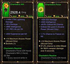 Diablo 3 RoS PS4 [SOFTCORE] - Chantodo's Resolve Wizard Set [Ancient]