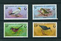 Guernsey 1978 Birds full set of stamps. Mint. Sg 169-172.