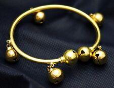 Bracelet, Full Blessing, Vintage Look. Tibetan Lucky 7 Bells Bangle,