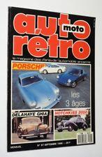 Auto Rétro (n°97 - septembre 1988)