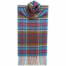 Lochcarron Mens/Ladies Anderson 100% Lambswool Scarf - Made in Scotland