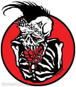 Brain Eater Sticker Decal Artist Eric Pigors PG32