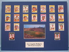 Los Angeles Dodgers 1959 World Series Champions
