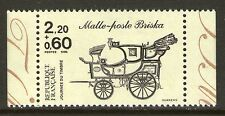 TIMBRE N° 2411 NEUF XX LUXE - MALLE-POSTE BRISKA - JOURNEE DU TIMBRE 1986