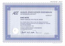 Ahaus - Enscheder Eisenbahn AG  1989