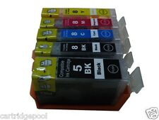 5 pk PGI-5 CLI-8 Ink Cartridge for Canon ip4200 ip4300