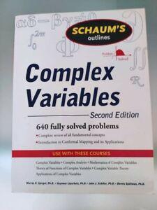 Complex Variables second edition (Schaum's outlines)