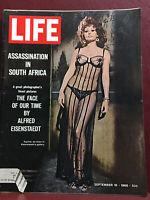 LIFE magazine September 16, 1966 Sophia Loren cover Marilyn Monroe John Lennon