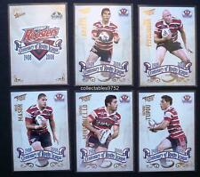 NRL 2008 SYDNEY ROOSTERS SELECT CENTENARY OF RUGBY LEAGUE TEAM SET 6 Cards