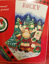 Needle Treasures 08570 TREES FOR SALE Christmas Stocking Kit ~ Sealed