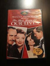 The Best Years of Our Lives 1947 World War Ii (Dvd, 2000) Mirna Loy