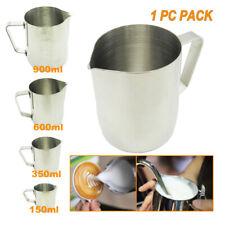 150ml 350ml 600ml 900ml Milk Craft Coffee Cup Frothing Mug Stainless Steel Jug