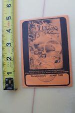 Storm Riders Jack McCoy Surf Film Gerry Lopez 1982 Vintage Movie Ticket