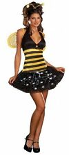 Bumble Bee Delightful Dreamgirl Fancy Dress Costume Size S P6668