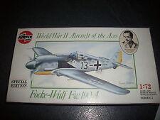 AIRFIX  FOCKE WULF FW190A  PLASTIC MODEL 1/72