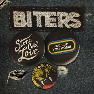 """Biters - Stone Cold Love - Limited Edition 7"""" Gold Vinyl"""