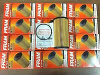 New case of 12 Fram CH9549 Engine Oil Filter FOR 2003-2010 FORD 6.0 6.4 DIESEL