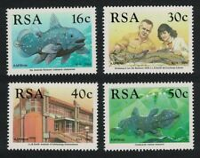 South Africa 50th Anniversary of Discovery of Coelacanth Fish 4v MNH SG#677-680