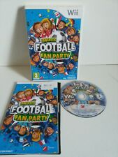 Fantastic Football Fan Party Nintendo Wii 3+ Soccer Game Complete