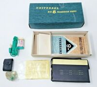 Vintage Universal Big 8 Transistor Radio In Box
